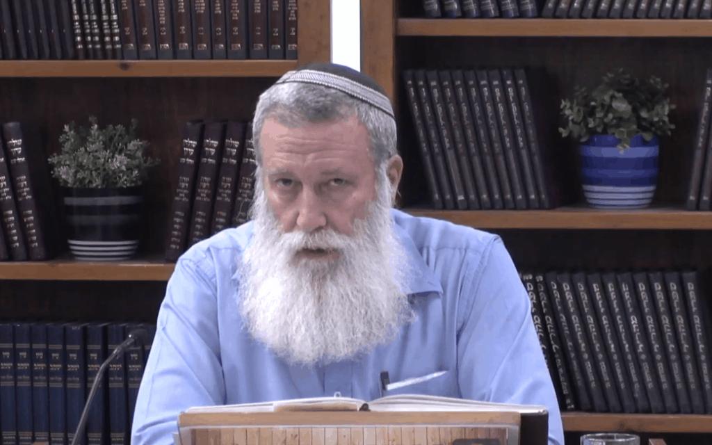הרב יוסף קלנר (צילום: צילום מסך מתוך יוטיוב)