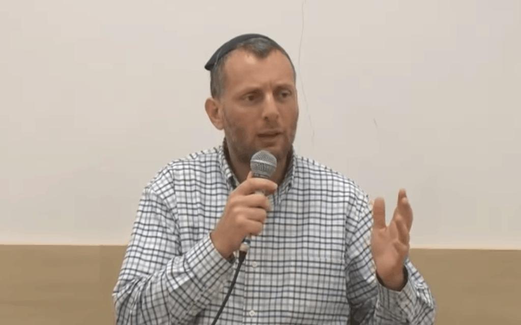 הרב נתנאל אלישיב (צילום: צילום מסך מתוך יוטיוב)