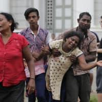 מתקפת הטרור בקולמבו, סרי לנקה (צילום: AP)