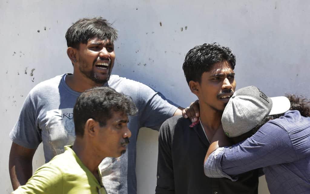 מתקפת הטרור בסרי לנקה (צילום: AP)
