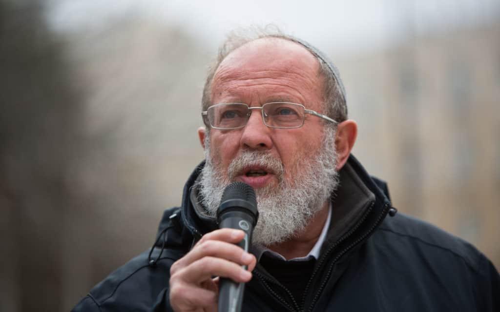 הרב אלי סדן (צילום: יונתן סינדל. פלאש 90)