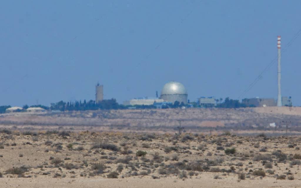 הכור הגרעיני בדימונה (צילום: משה שי / פלאש 90)