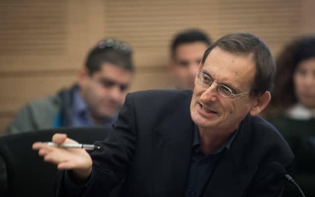 דב חנין (צילום: הדס פרוש/פלאש90)