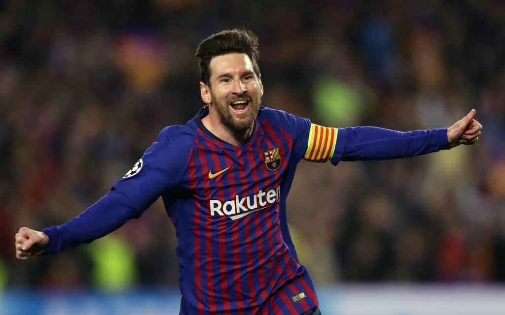 ליאונל מסי, שחקן כדורגל בברצלונה (צילום: AP Photo / Manu Fernandez)