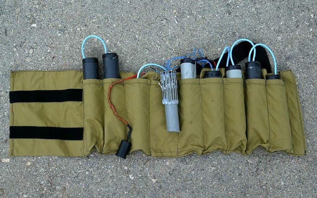 חגורת נפץ צילום אילוסטרציה (צילום: אוליבר פיטוסי פלאש 90)
