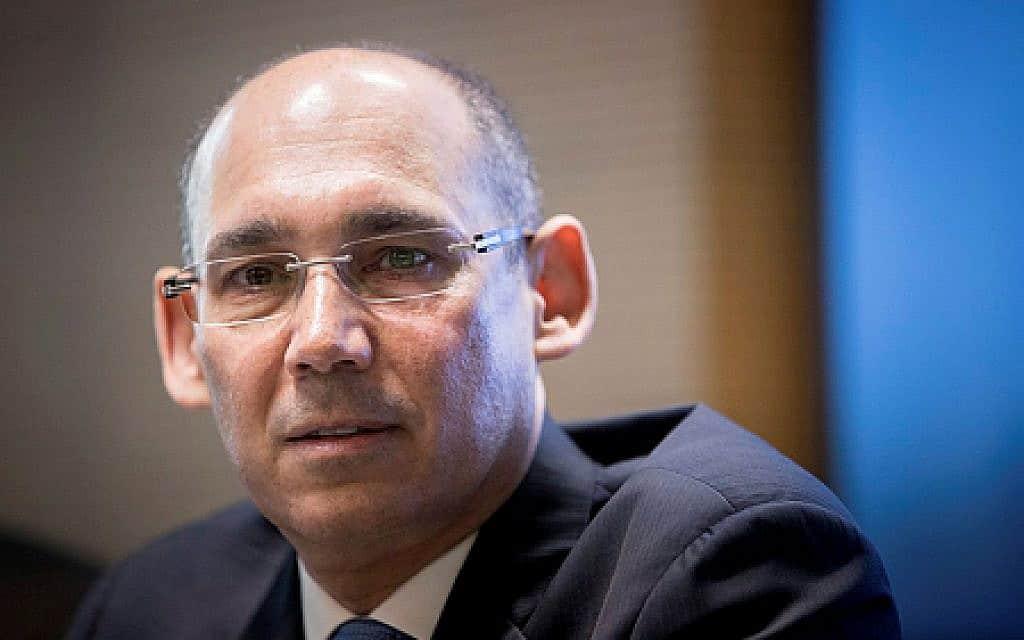 נגיד בנק ישראל אמיר ירון (צילום: יונתן סינדל, פלאש 90)