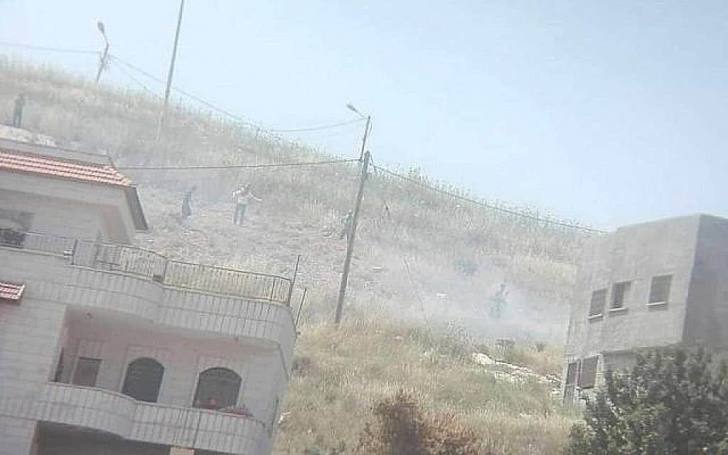 עימותים בשומרון (צילום: יש דין)