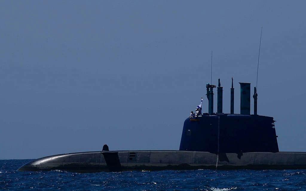 צוללת של חיל הים, תמונת אילוסטרציה (צילום: תומר נויברג פלאש 90)