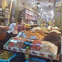 שוק בעזה (תצלום ארכיון) (צילום: מוחמד סאלם)