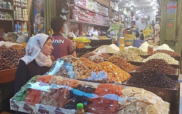 שוק בעזה (צילום: מוחמד סאלם)