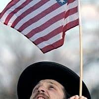 יהודים באמריקה (צילום: AP Photo/Cliff Owen)