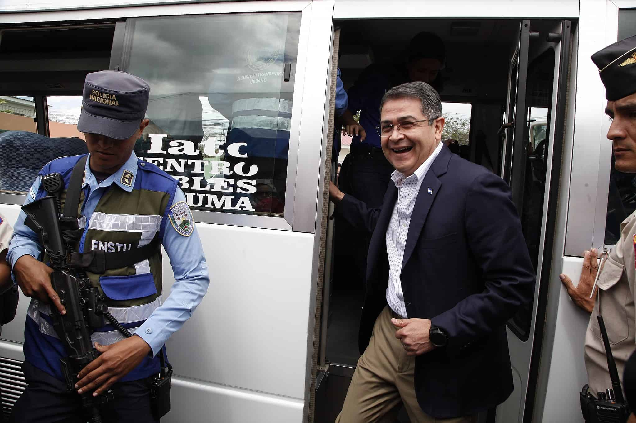 נשיא הונדורס חואן הרננדס (צילום: AP Photo/Fernando Antonio)