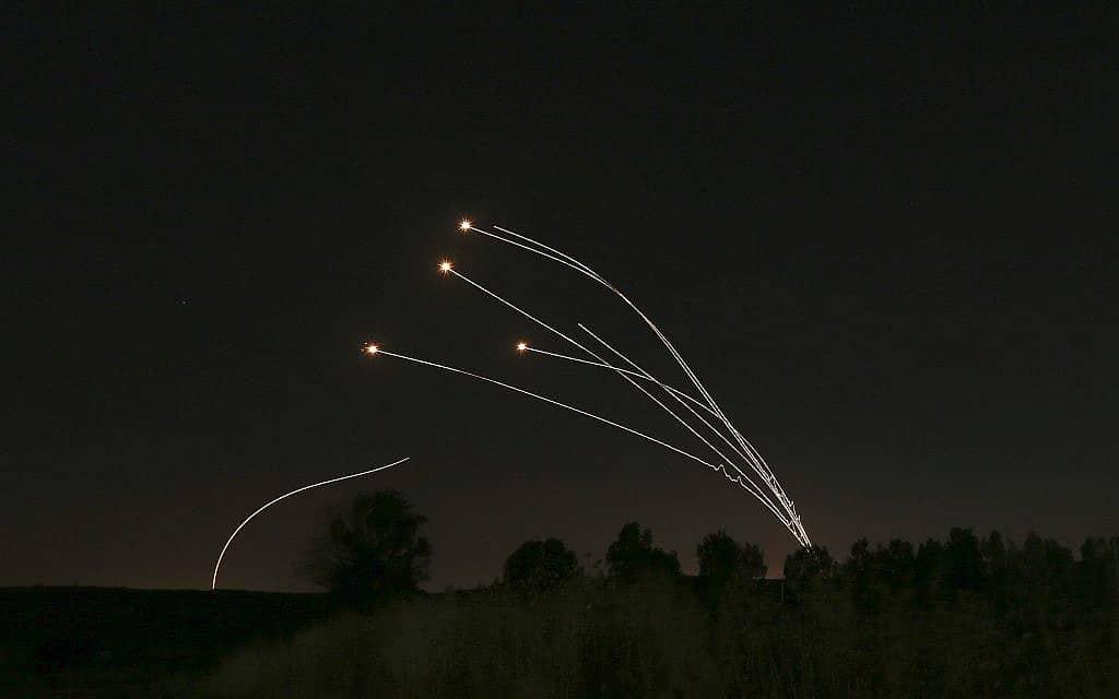 כיפת ברזל (צילום: AP Photo/Ariel Schalit)