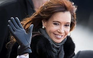 כריסטינה קירשנר (צילום: AP Photo/Alexander Zemlianichenko)