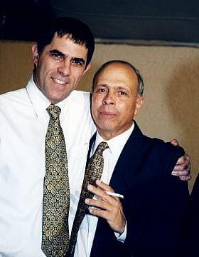 משה ורדי ונוני מוזס (צילום: Moshe Shai/Flash90)
