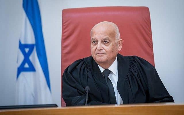 השופט סלים ג'ובראן (צילום: Yonatan Sindel/Flash90)