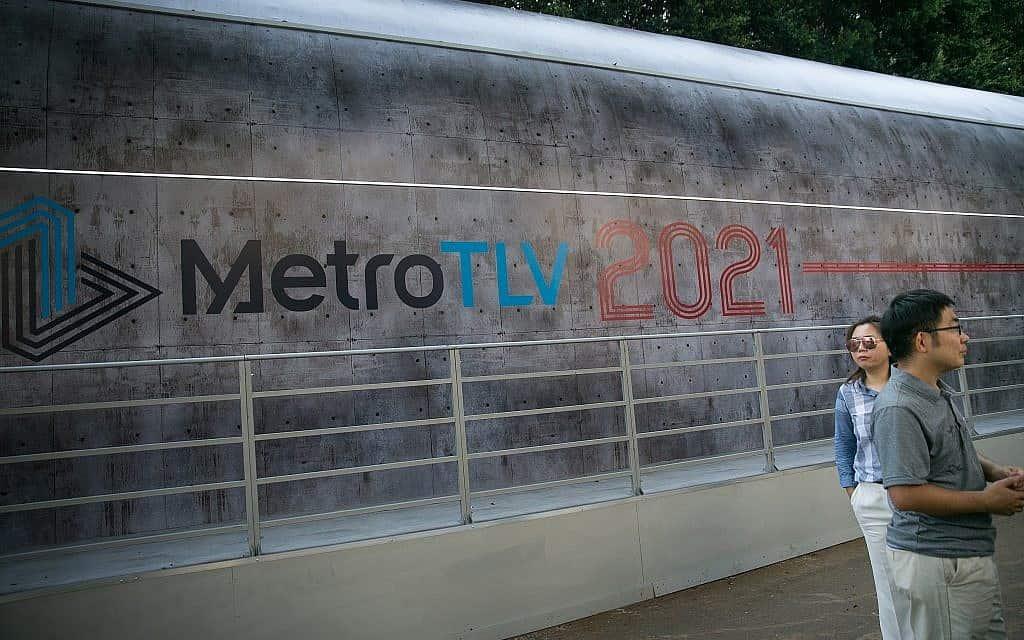 הכנות לרכבת הקלה בתל אביב (צילום: מרים אלסטר/פלאש90)