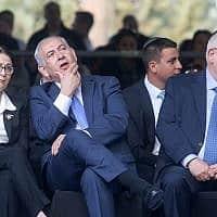 בנימין נתניהו ונשיאת בית המשפט העליון אסתר חיות (צילום: Marc Israel Sellem/POOL)