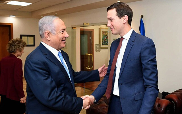 בנימין נתניהו וג'ארד קושנר (צילום: Matty Stern/U.S. Embassy Jerusalem)