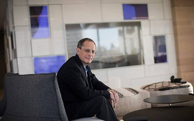יוג׳ין קנדל, במשרדי ״סטארט-אפ ניישן סנטרל״ (צילום: הדס פרוש/פלאש90)