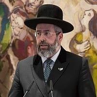 הרב הראשי, דוד לאו (צילום: הדס פרוש/פלאש90)