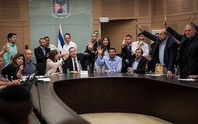 חברי הוועדה המיוחדת מצביעים על התאריך ה-17 בספטמבר 2019 כמועד הבחירות הבאות (צילום: הדס פרוש/פלאש90)