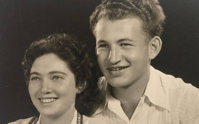 מורדו ואלה, הוריו של הכותב (צילום: אמיר בן דוד)