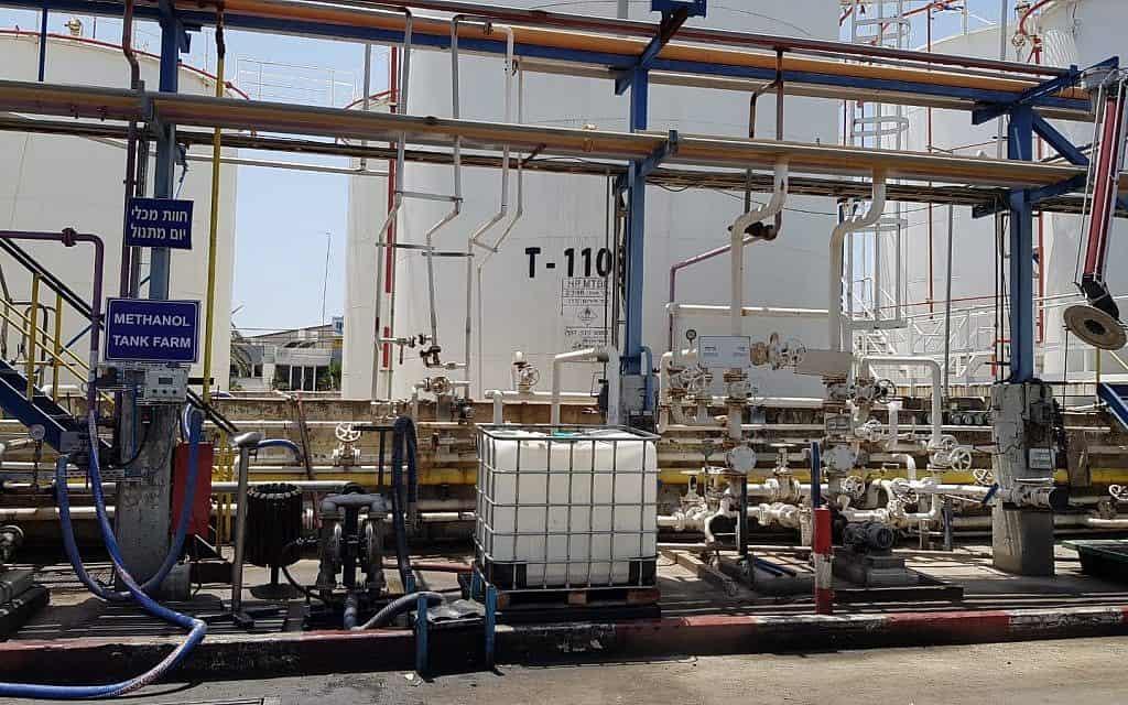 מפעל דור כימיקלים (צילום: המשרד להגנת הסביבה)