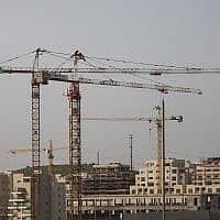 בנייה, צילום אילוסטרציה (צילום: הדס פרוש פלאש 90)