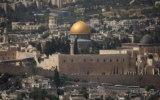מסגד אל אקצה בהר הבית בירושלים צילם יונתן סינדל פלאש 90 (צילום: יונתן סינדל פלאש 90)