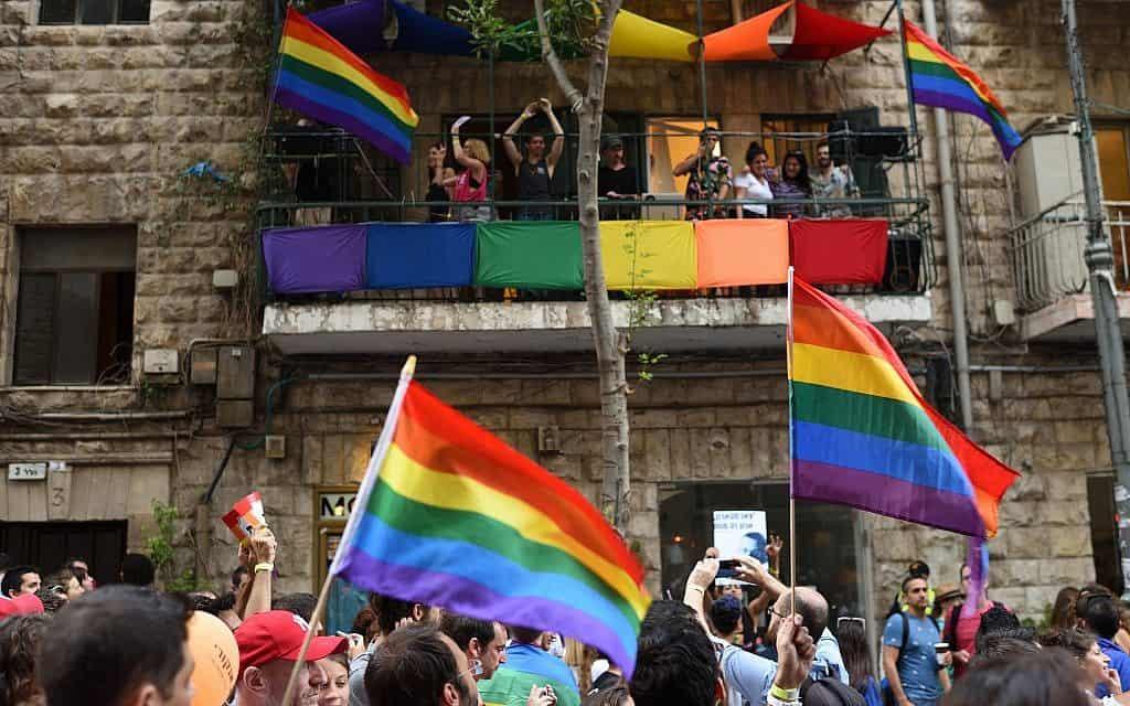 מצעד הגאווה הקודם בירושלים (צילום: גילי יערי פלאש 90)
