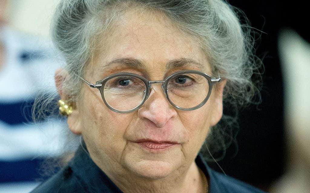 נחמה ריבלין (צילום: יונתן סינדל, פלאש 90)