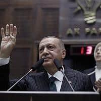 רג'יב טאיפ ארדואן (צילום: Burhan Ozbilici, AP)