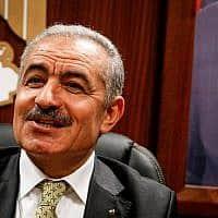 ראש הממשלה הפלסטיני מוחמד שתאייה (צילום: Nasser Ishtayeh/Flash90)
