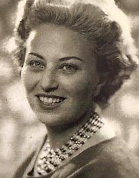 אינגה גינסברג בצעירותיה. (צילום: Courtesy)