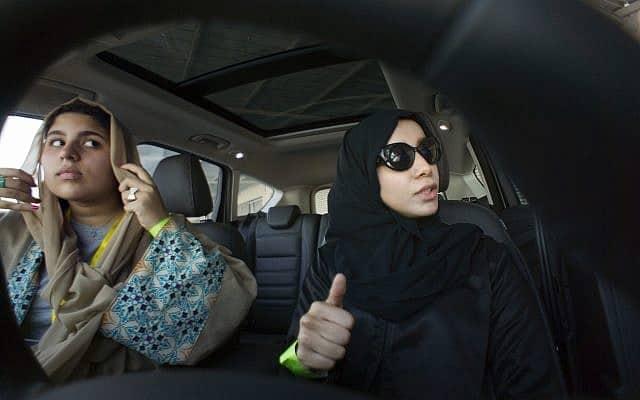 נשים סעודית נוהגות לראשונה, 2018 (צילום: AP Photo/Amr Nabil)