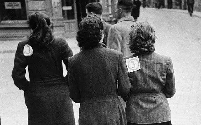 נשים יהודיות בליטא, 1941 (צילום: AP)