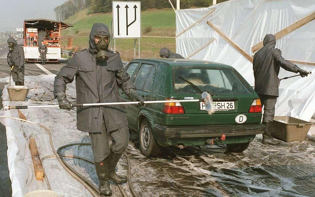 צ'רנוביל, 1986 (צילום: AP Photo/Udo Weitz)