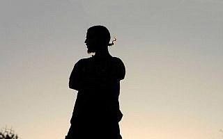 פעיל ימין קיצוני בשטחים ב-2009. אילוסטרציה (צילום: עומר מסינגר/פלאש90)