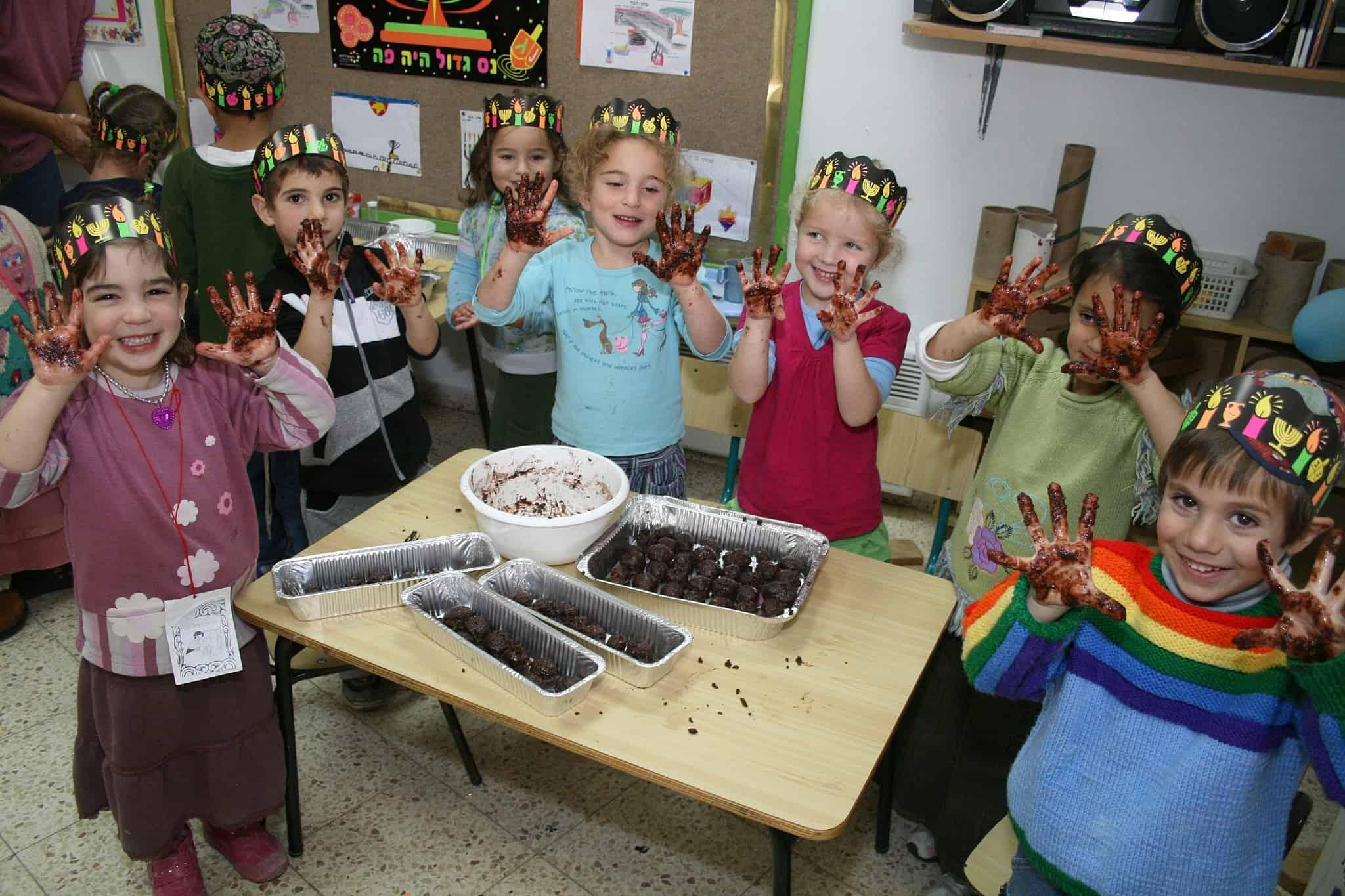 גן ילדים בהתנחלות אפרת, 2009 (צילום: Gershon Elinson/Flash90)