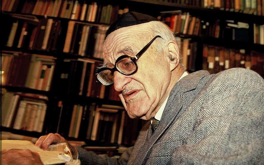 ישעיהו ליבוביץ (צילום: Moshe shai/Flash90)