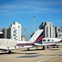 נמל התעופה שדה דב (צילום: Moshe Shai/FLASH90)