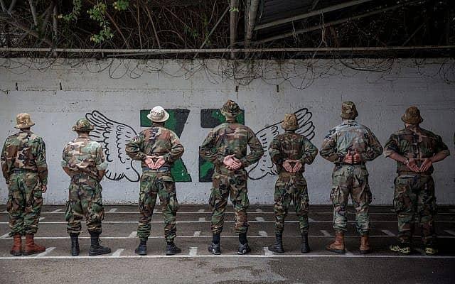 חיילים בכלא 4, 2018 (צילום: מרים אלסטר, פלאש 90)