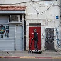 קורקינטים בתל אביב (צילום: הדס פרוש פלאש 90)