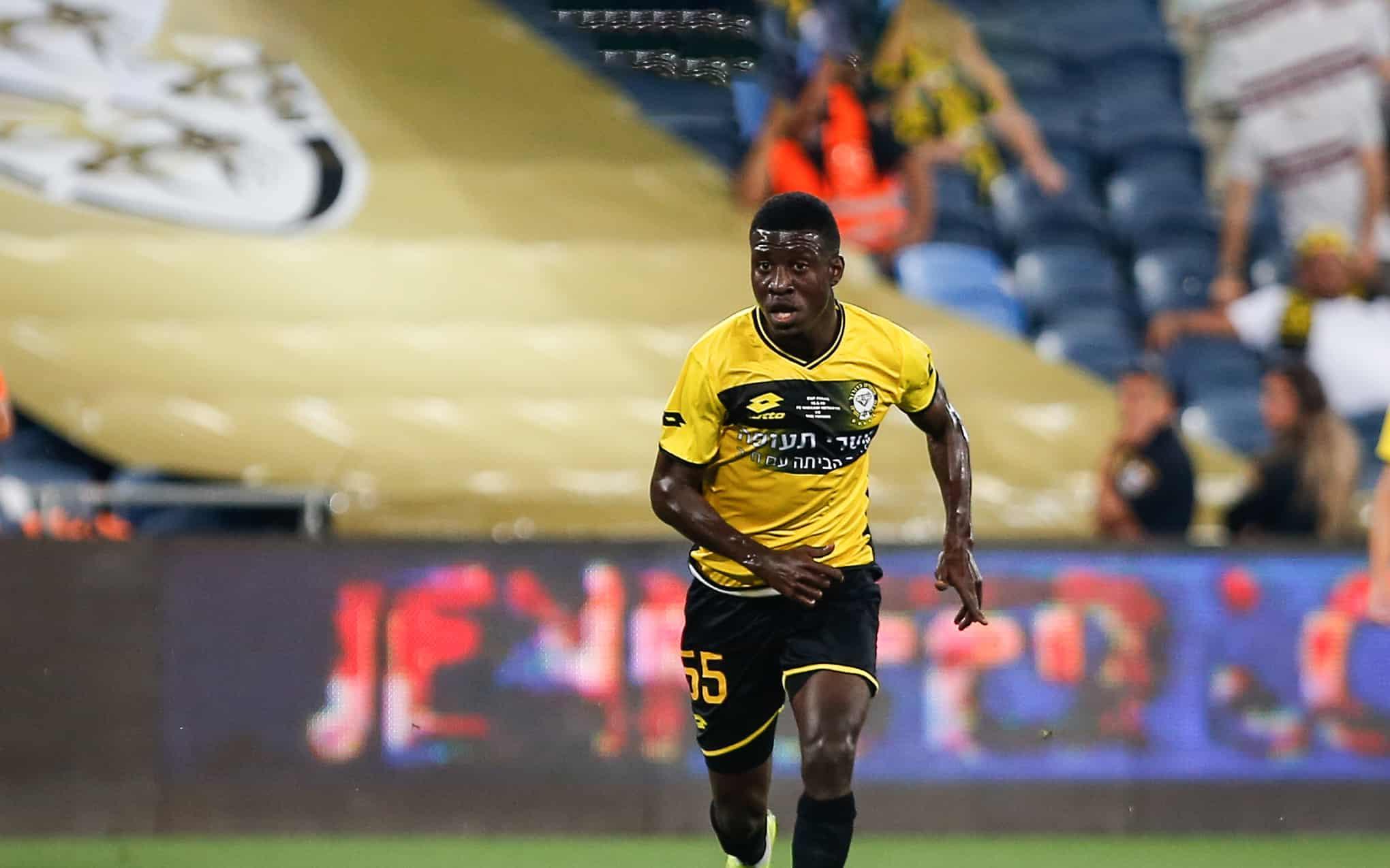 הכדורגלן עלי מוחמד (צילום: Roy Alima/Flash90)
