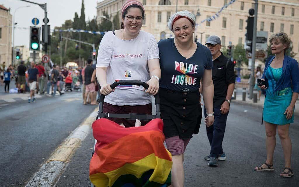 מצעד הגאווה בירושלים 2019 (צילום: נועם רבקין פנטון/פלאש90)