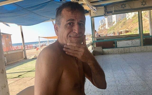 גדעון כהן בת ים (צילום: אמיר בן-דוד)