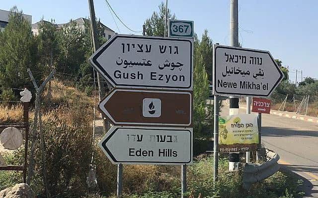 אלון שבות (צילום: אמיר בן-דוד)
