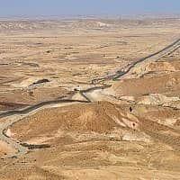 גבול ישראל-מצרים בסיני (צילום: יוסי זלינגר, פלאש 90)