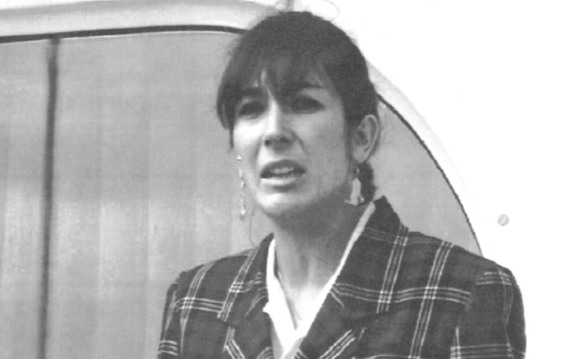 גיזלין מקסוול, מקורבת לגפרי אפשטיין צילום Dominique Mollard, AP